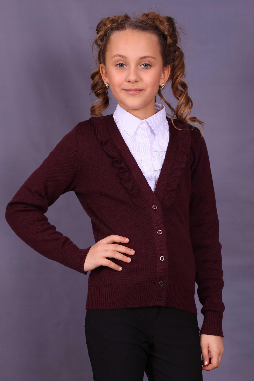 Кардиган подросток девочка вязание